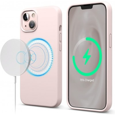 Elago MagSafe Θήκη Σιλικόνης Apple iPhone 13 - Lovely Pink (ES13MSSC61-LPK)