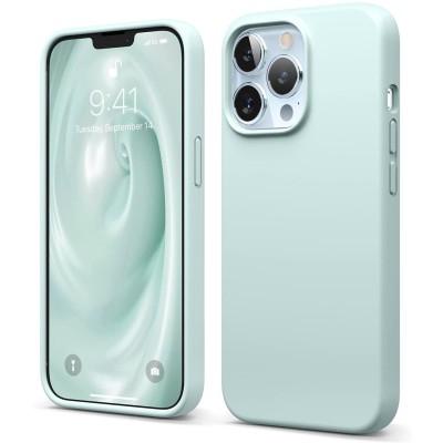 Elago Premium Θήκη Σιλικόνης Apple iPhone 13 Pro - Mint (ES13SC61PRO-MT)