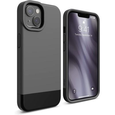 Elago Θήκη Glide - Apple iPhone 13 - Dark Gray / Black (ES13GL61-DGYBK)