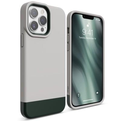 Elago Θήκη Glide - Apple iPhone 13 Pro Max - Stone / Dark Green (ES13GL67-STDGR)
