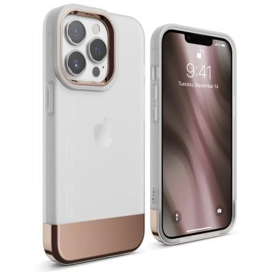 Elago Θήκη Glide - Apple iPhone 13 Pro - Transparent / Rose Gold (ES13GL61PRO-TRRGD)