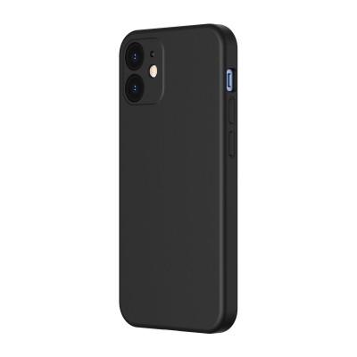 Baseus θήκη σιλικόνης για iPhone 12 Mini Liquid Black