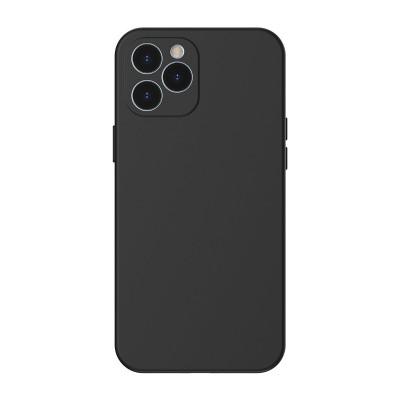 Baseus θήκη σιλικόνης για iPhone 12 Pro Max Liquid Black