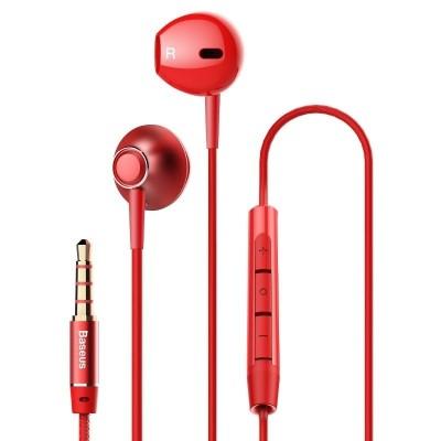 Ακουστικά Handsfree Baseus Enock H06 Red