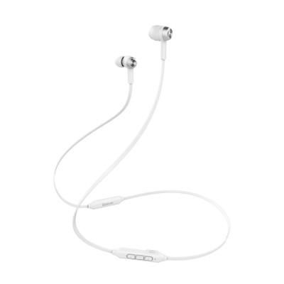 Baseus Encok S06 Μαγνητικά Ασύρματα Ακουστικά -Λευκά