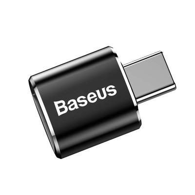 Baseus Converter USB to USB Type-C OTG (CATOTG-01) Αντάπτορας - Black