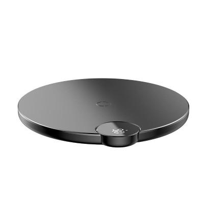 Ασύρματος φορτιστής Baseus Digital Led Wireless Charger Black