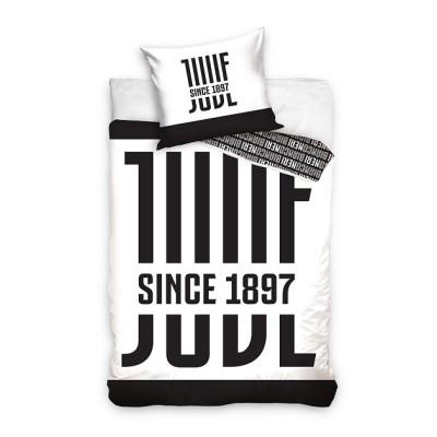 Juventus μόνο σετ παπλωματοθήκης 160 x 200 cm
