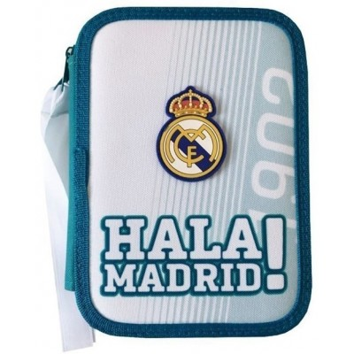 Σχολική Κασετίνα Real Madrid με το σήμα της ομάδας - Επίσημο Προϊόν