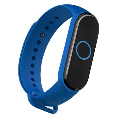OEM Λουράκι Σιλικόνης για Xiaomi Mi Band 5 - Blue