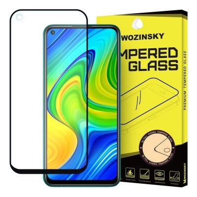 Wozinsky Full Cover Tempered Glass Full Glue Black για Xiaomi Redmi Note 9