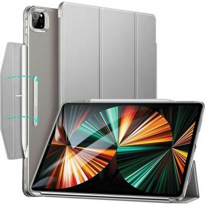 ESR Ascend Trifold Θήκη με Υποδοχή Apple Pencil - Apple iPad Pro 12.9'' 2021 - Silver Grey (4894240122969)