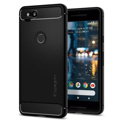 Spigen Google Pixel 2 Rugged Armor Black (F16CS22271)
