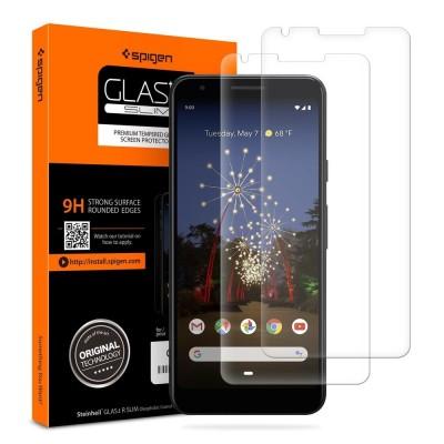 Spigen Pixel 3a Tempered Glass GLAS.tR SLIM 2-Pack (F23GL26444)