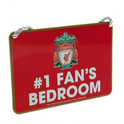 """Πινακίδα διακοσμητική Liverpool FC """"#1 Fan's BedRoom"""""""