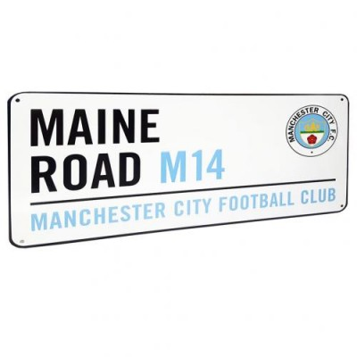 Μεταλλική πινακίδα  Manchester City F.C.