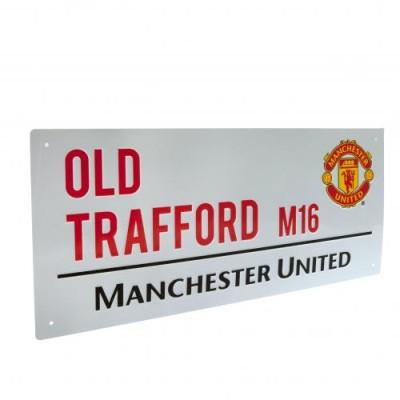 Διακοσμητική Πινακίδα Manchester United F.C - επίσημο προϊόν