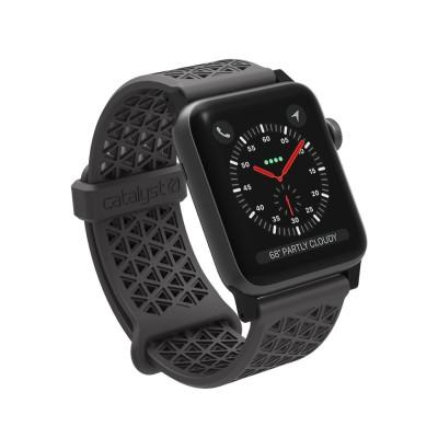 Catalyst Ανταλλακτικό Λουράκι Σιλικόνης Apple Watch 3/2/1 - 42mm - Space Gray