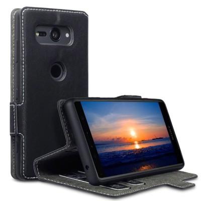 Terrapin Θήκη - Πορτοφόλι Low Profile Sony Xperia XZ2 Compact - Black
