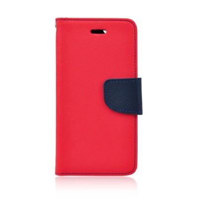 Θήκη-Πορτοφόλι για Microsoft Lumia 550 κόκκινη