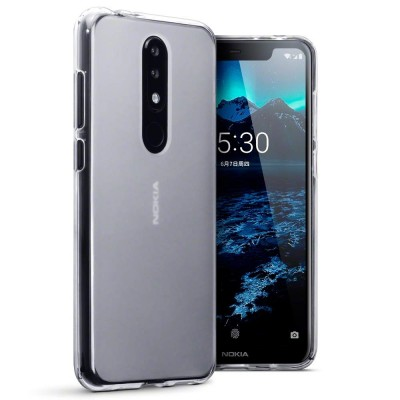 Terrapin Θήκη Σιλικόνης Nokia 5.1 Plus - Clear (118-001-282)