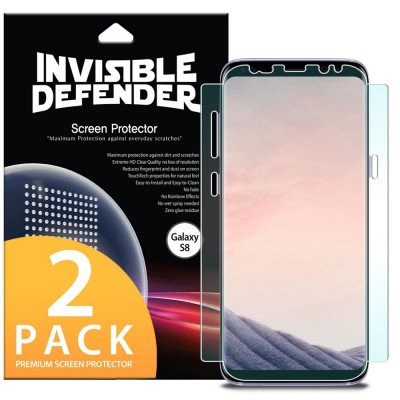 Ringke Invisible Defender Curved Screen Protector Samsung Galaxy S8