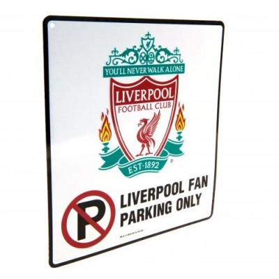 Πινακίδα No Parking Liverpool FC