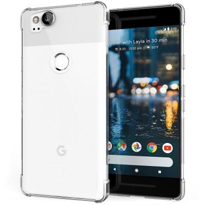 Θήκη σιλικόνης Ultra Slim για Google Pixel 2 διάφανη by Caseflex