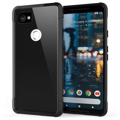 Θήκη σιλικόνης Ultra Slim για Google Pixel 2 XL μαύρη