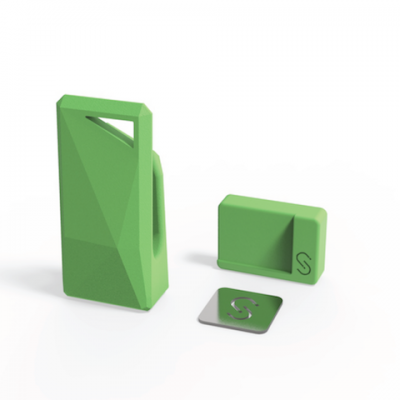 Stikey σε πράσινο  χρώμα - Ολοκληρωμένο Kit στήριξης για όλα τα smartphones