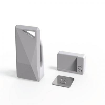Stikey σε γκρι χρώμα - Ολοκληρωμένο Kit στήριξης για όλα τα smartphones