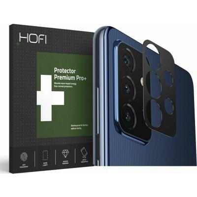 Hofi Premium Pro+ Camera Metal Styling - Μεταλλικό Προστατευτικό Κάλυμμα Κάμερας Samsung Galaxy A72 - Black (6216990210211)