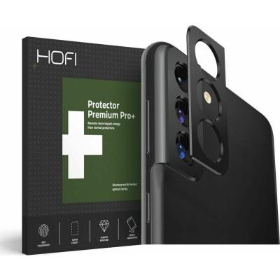 Hofi Premium Pro+ Camera Metal Styling - Μεταλλικό Προστατευτικό Κάλυμμα Κάμερας Samsung Galaxy S21 5G - Black (76827)
