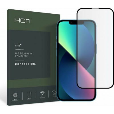 Hofi Premium Pro+ Tempered Glass - Fullface Αντιχαρακτικό Γυαλί Οθόνης - Apple iPhone 13 mini - Black (6216990212963)