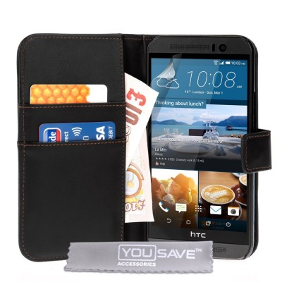 Θήκη- Πορτοφόλι για HTC One M9 by YouSave