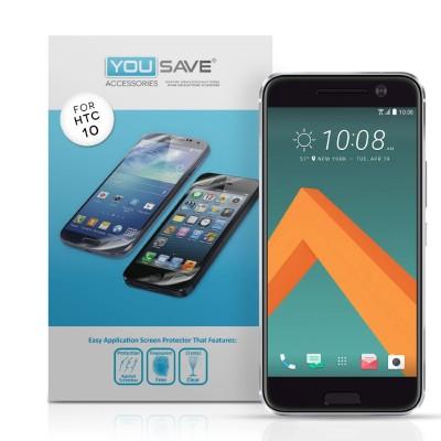 Μεμβράνη Προστασίας Οθόνης για HTC 10 by Yousave - 5 Τεμάχια