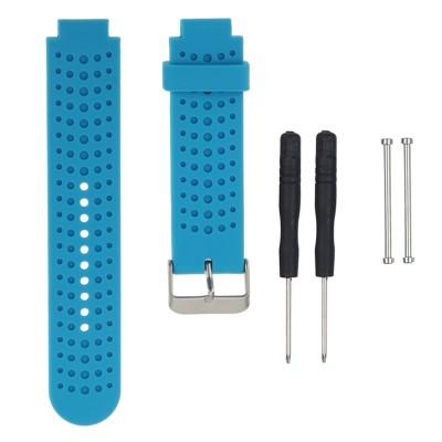 Γαλάζιο λουράκι σιλικόνης για Garmin Forerunner 230/235/630/220/620/735 - OEM
