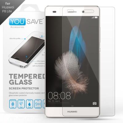 Αντιχαρακτικό Γυάλινο Screen Protector Huawei P8 Lite