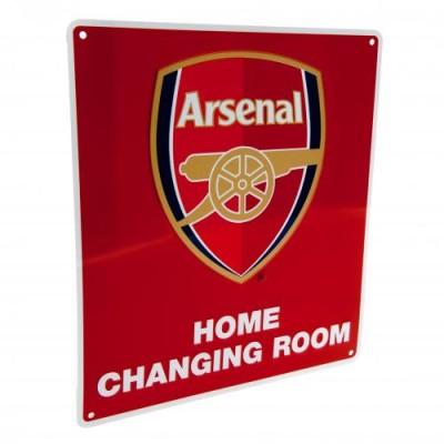 Μεταλλική διακοσμητική πινακίδα αποδυτηρίων Arsenal F.C επίσημο προϊόν