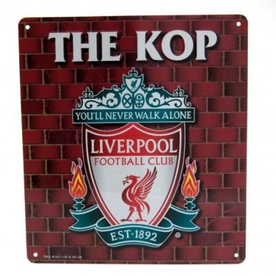"""Πινακίδα διακοσμητική Liverpool FC """"The Kop"""""""