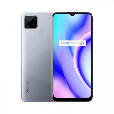 Realme C15 (64GB) Smartphone - Ασημί