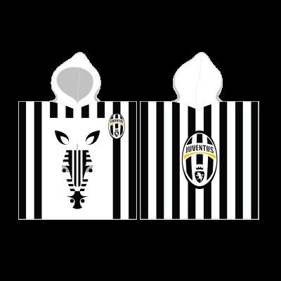 Juventus Παιδική πετσέτα πόντσο 60 x 120 cm - επίσημο προϊόν