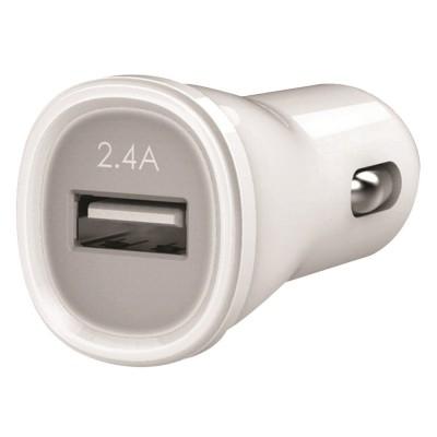 Kanex USB Car Charger 2.4A White (KCLA1PT24)