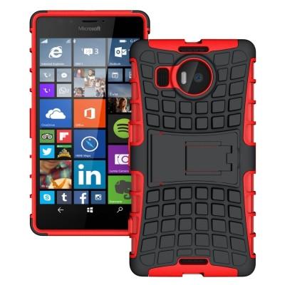 Κόκκινη Ανθεκτική Θήκη Microsoft Lumia 950XL