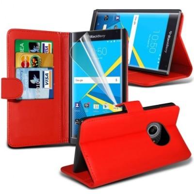 Κόκκινο ΠορτοφόλιΘήκη Blackberry Priv