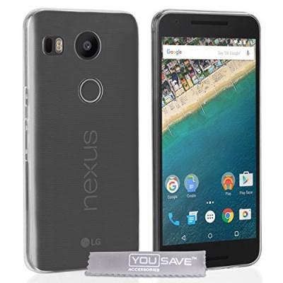 Θήκη σιλικόνης για LG Nexus 5X διάφανη slim