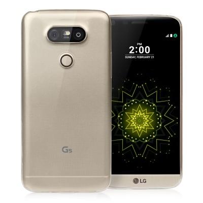 Θήκη σιλικόνης για LG G5 διάφανη Slim