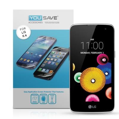 Μεμβράνη Προστασίας Οθόνης για LG K4 by Yousave - 5 Τεμάχια