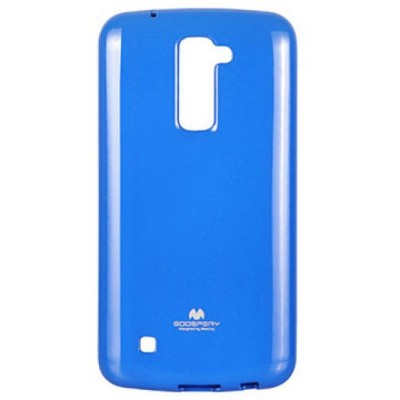 Mercury Jelly Premium Case for LG K10 Blue