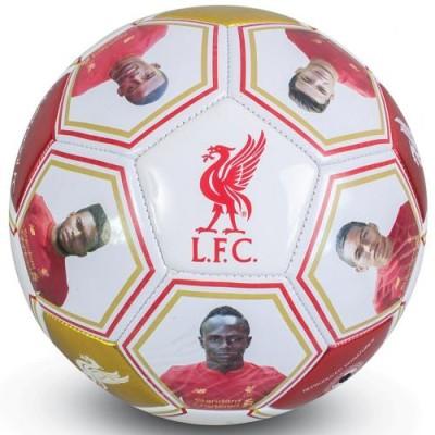 Ποδοσφαιρική Μπάλα Liverpool F.C με υπογραφές και φωτογραφίες